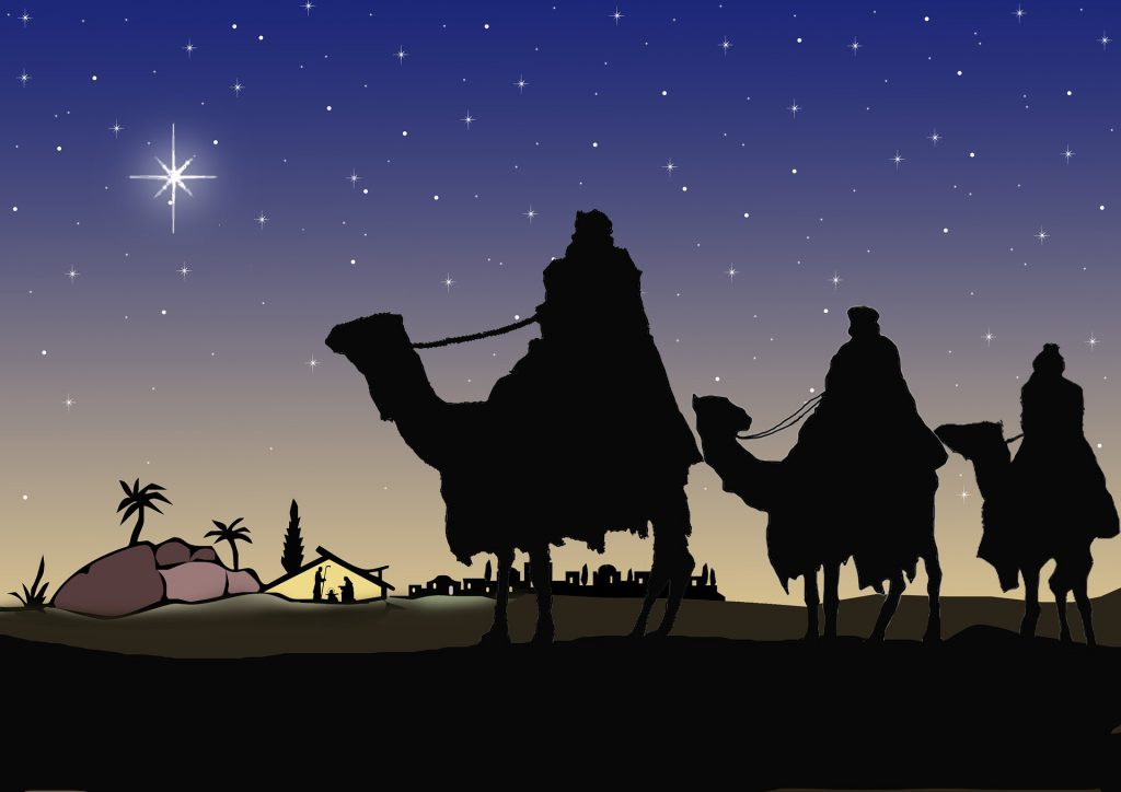 The arrival of the Magi - The Epiphany