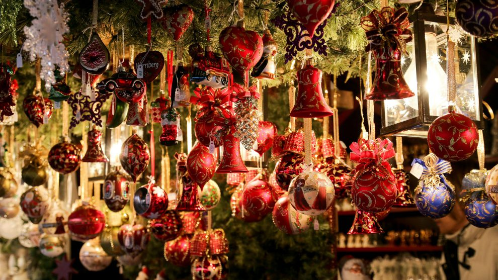 History of Christmas Decorations