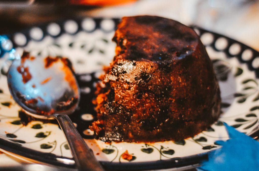 Christmas pudding, a traditional Christmas fayre