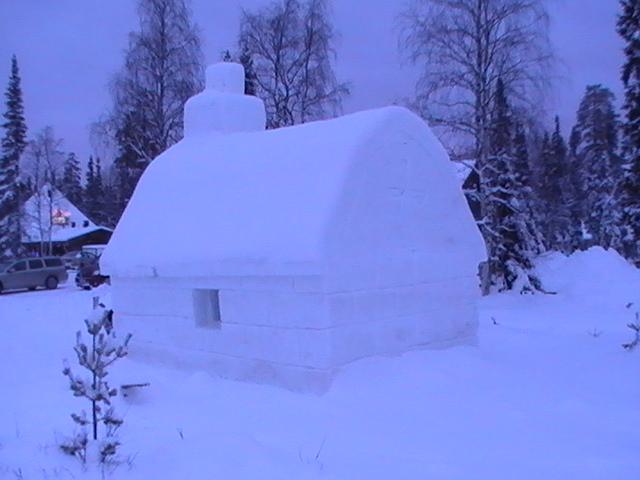 Log cabin Luosto Lapla