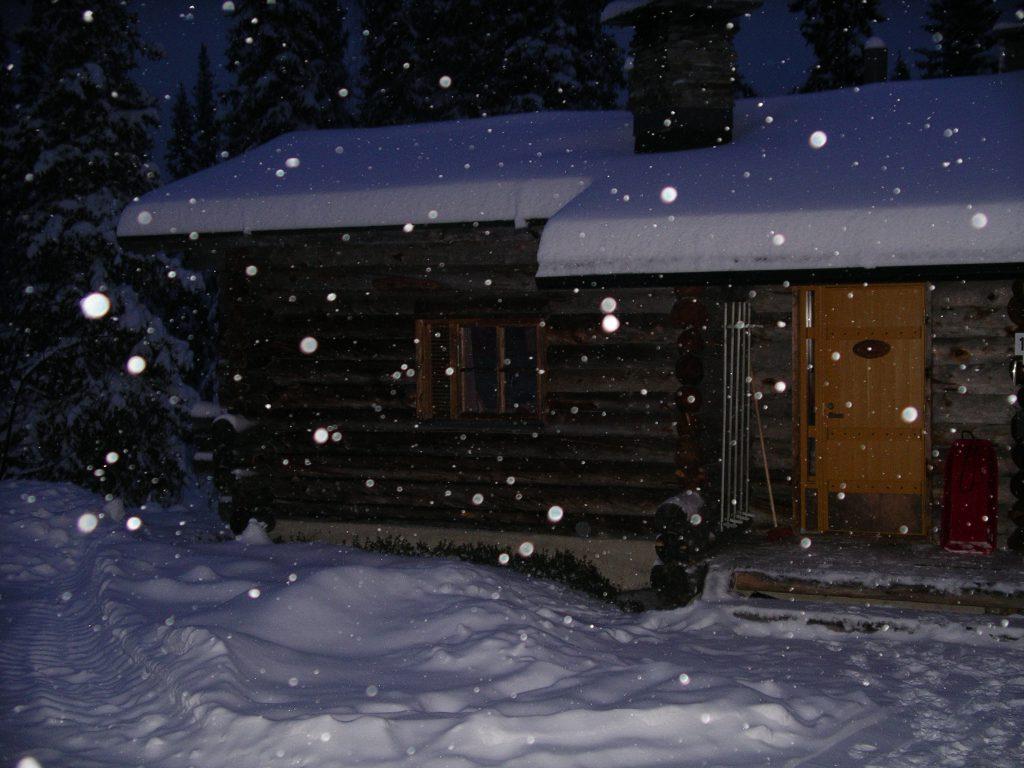 Log cabin Luosto Lapland